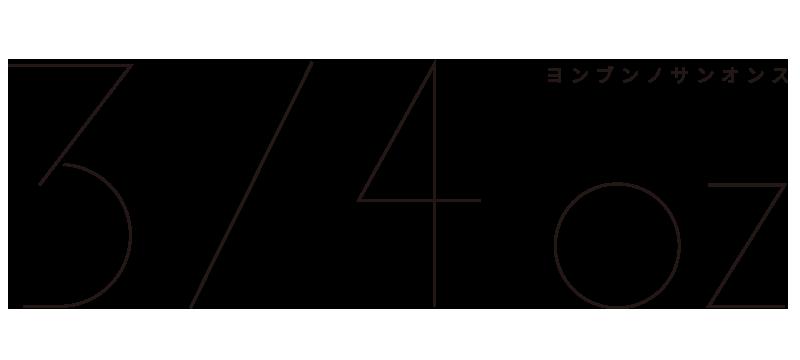 3/4oz